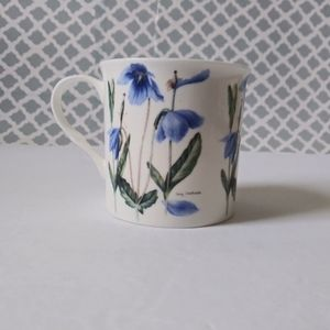Vintage Heath McCabe floral print mug